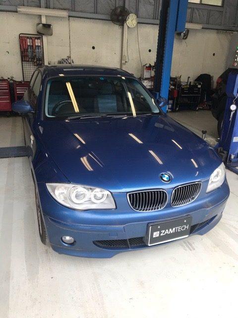 BMW1 ウインカー戻らない