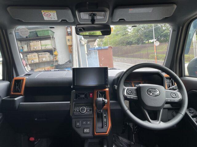 ダイハツ タフト Gターボ スマホ連携ディスプレイ スタイルP フォレストカーキ